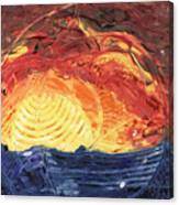 Lever De Soleil Canvas Print