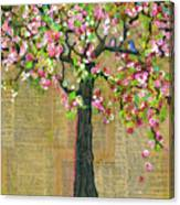 Lexicon Tree Of Life 4 Canvas Print