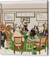 Lexington Club Canvas Print
