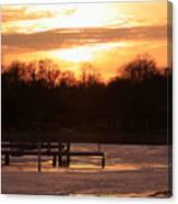 Lexington Harbor Sunset Canvas Print