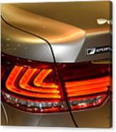Lexus Ls 460 F Sport Tail Light Canvas Print