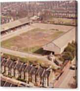 Leyton Orient - Brisbane Road - Aerial View 1 - Looking South East Canvas Print