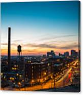 Libbie Hill In March Canvas Print