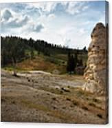 Liberty Cap - Yellowstone Canvas Print