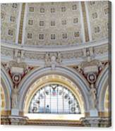 Library Of Congress 1 Canvas Print
