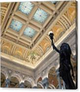 Library Of Congress Great Hall IIi Canvas Print