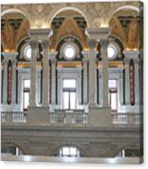 Library Of Congress IIi Canvas Print