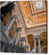 Library Of Congress Vii Canvas Print