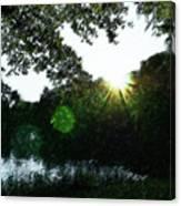 Licht Canvas Print