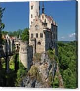 Lichtenstein Castle Canvas Print