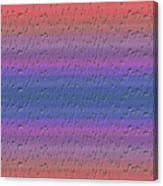 Lie Detector Abstract Design Canvas Print