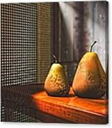 Life As A Pear Canvas Print