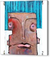 Life As Human Number Six Canvas Print