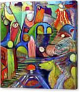 Life At Aauj Canvas Print