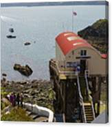 Life Boat Station Canvas Print