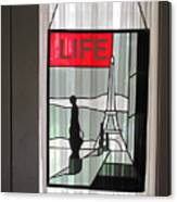 Life Cover By Ed Clark Canvas Print