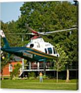 Life Flight Training Canvas Print