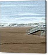 Life Guard Stand - Color Canvas Print