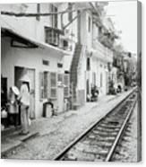 Life In Hanoi Canvas Print