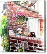 Life In Robin Hoods Bay Canvas Print