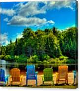 Life In The Adirondack Mountains Canvas Print
