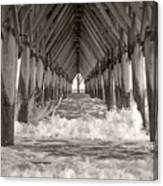 Life Is Good On Topsail Scp Canvas Print