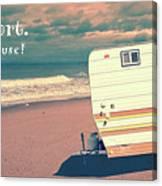 Life Is Short Buy The Beach House Mug Canvas Print