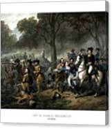Life Of George Washington - The Soldier Canvas Print