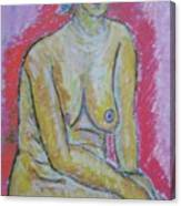 Life Study Of The Female Figure 07 Canvas Print