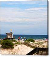 Lifeguard On Duty Canvas Print