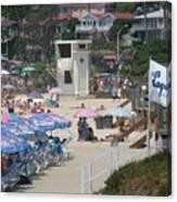 Lifeguard Tower Laguna Canvas Print