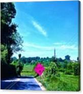 Life's Detour Canvas Print