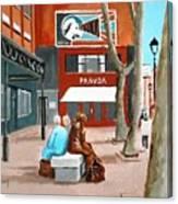Liffey Street, Dublin Canvas Print