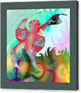Lifting The Color Canvas Print