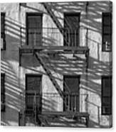 Light And Shadow On First Avenue Canvas Print