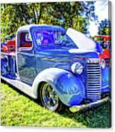 Light Blue Pickup  Canvas Print