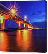 Light Bridge Canvas Print