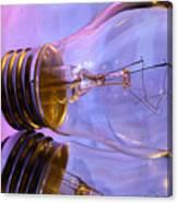 Light Bulb - Multi Color Canvas Print