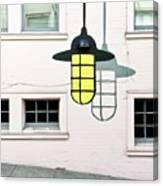 Light Bulb Mural Canvas Print