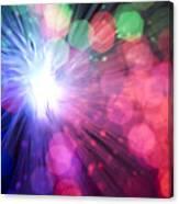 Light Burst-5 Canvas Print