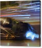 Light Car   Carrosse De Lumiere Canvas Print