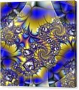 Light Dark Intersect Canvas Print