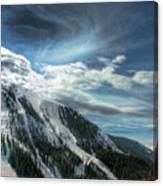 Light Fades On Arapaho Basin Canvas Print