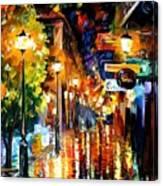 Light Fiesta Canvas Print