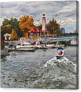 Light House Mississauga Canvas Print