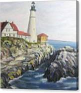 Light House Canvas Print