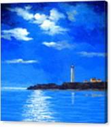 Light  Keeper Canvas Print