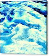 Light On Glacier Canvas Print