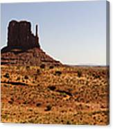 Light On Monument Valley  Canvas Print