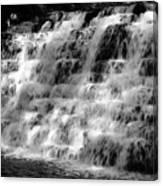 Light On The Jones Mill Run Dam Canvas Print